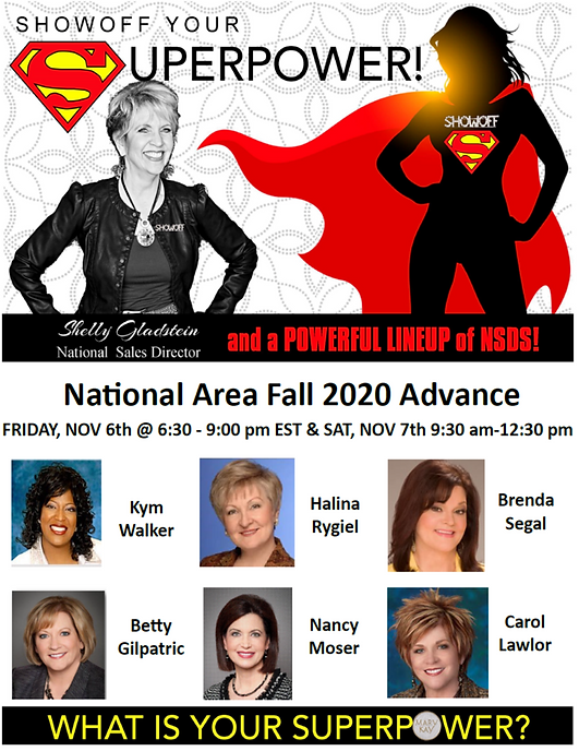 NEW ShowOff your Superpower Fall Advance