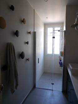 salle de bains, douche