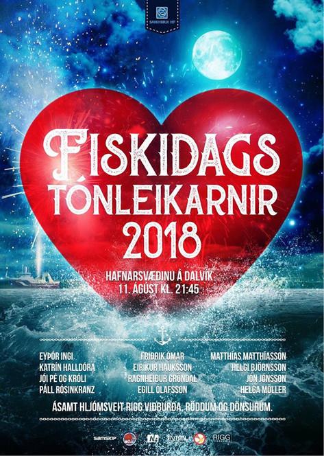 Fiskidags-tónleikar 2018