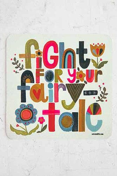 Fairytale Vinyl Sticker