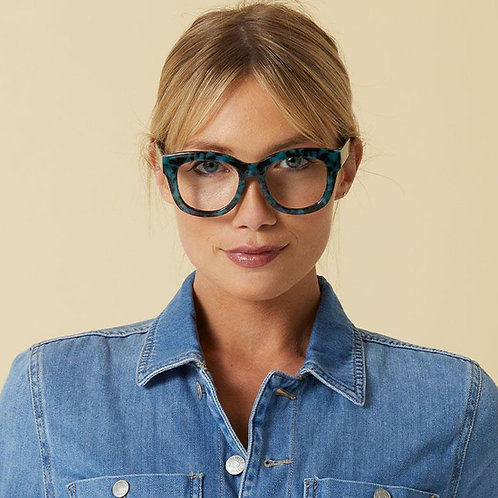 Peepers Glasses-Center Stage-Green Tortoise