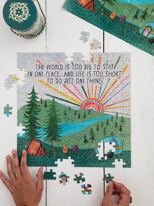 World is Big Puzzle