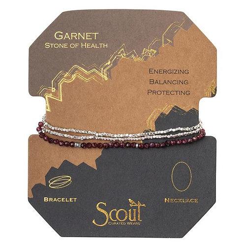 Delicate Stone Garnet - Stone of Health