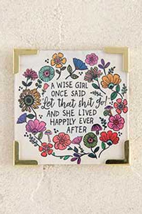 A Wise Girl Corner Magnet