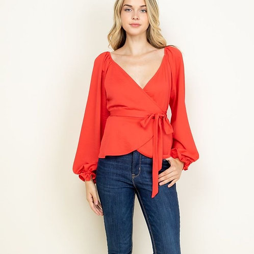 SHANIA TOP-RED