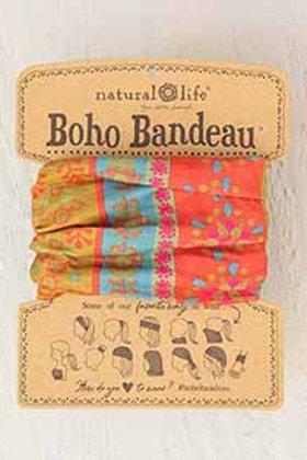 Boho Bandeau™ Red Floral Stripes
