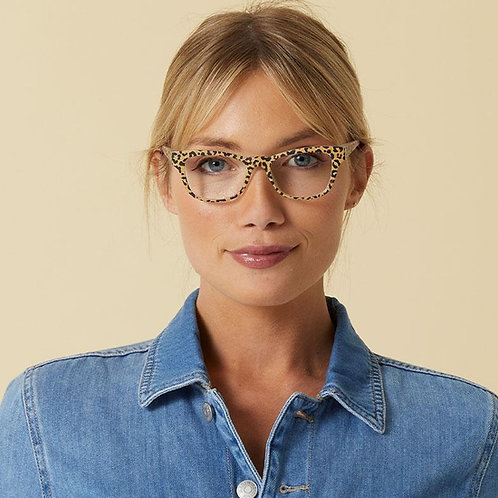 Peepers Glasses-Orchid Island-Tan/Leopard Floral
