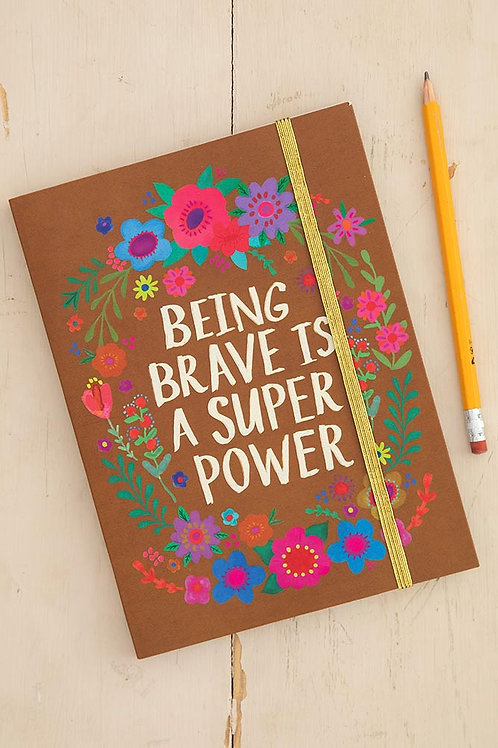 Being Brave Is Super Journal