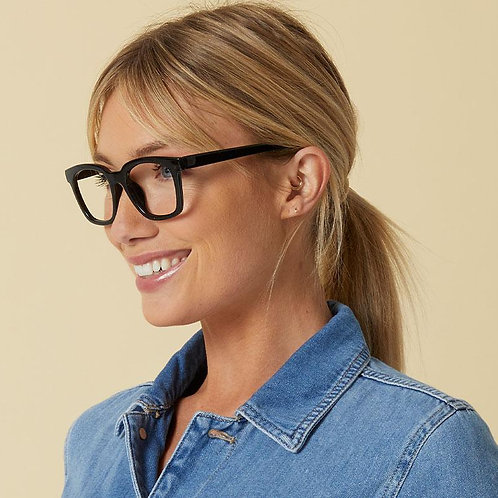 Peepers Glasses-To The Max-Black