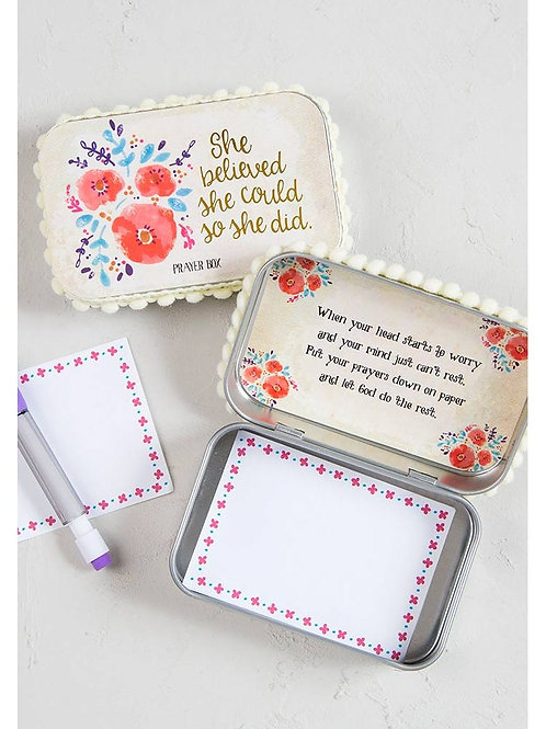 She Believed She Could Prayer Box