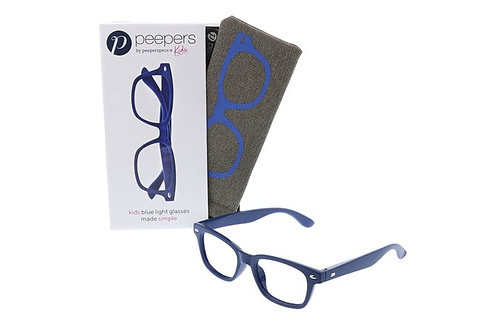 Peeper's Simply Kids Blue Light Glasses-Blue
