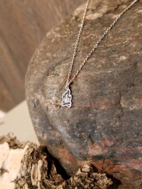 Campfire Mini Necklace