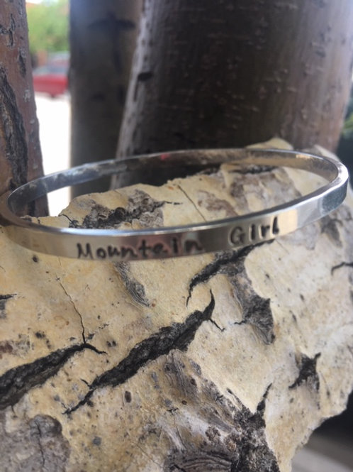 Mountain Girl Bangle