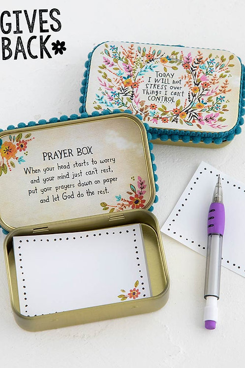 Will Not Stress Prayer Box