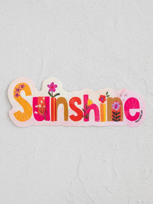 Sunshine Vinyl Sticker