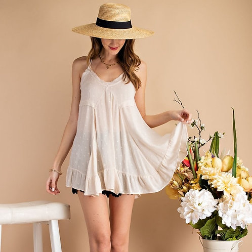 THAT EASY CAMI TUNIC-IVORY