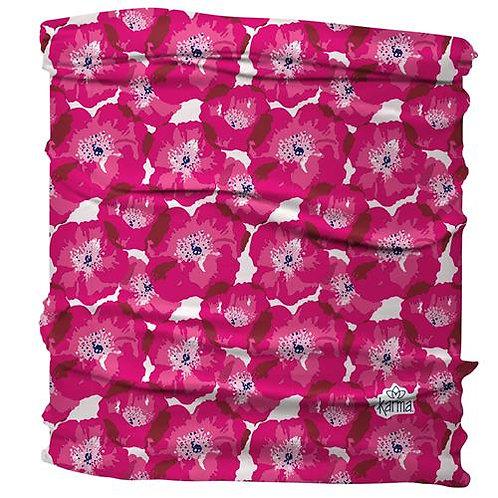 Pink Poppy Half Headband