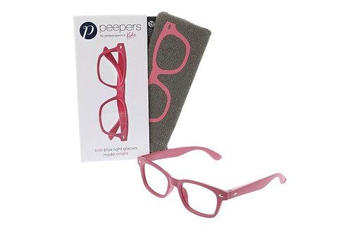 Peeper's Simply Kids Blue Light Glasses-Pink