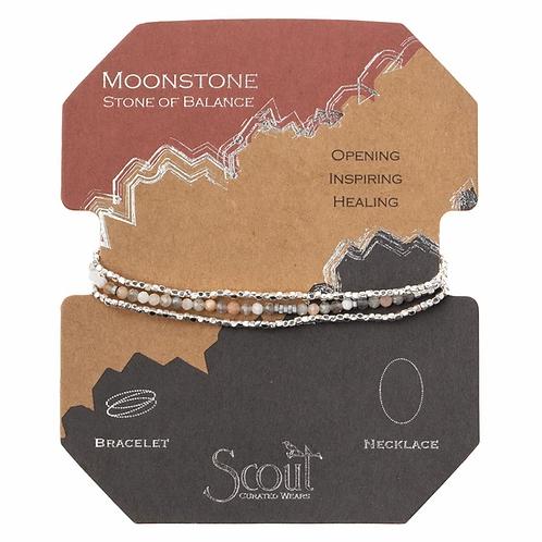Delicate Stone Moonstone - Stone of Balance