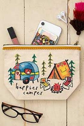 Canvas Pouch Happier Camper