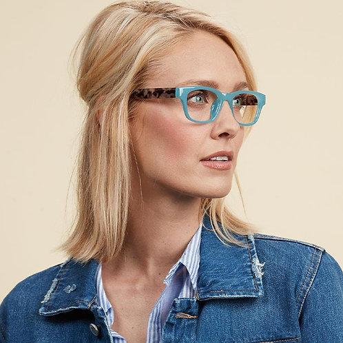 Peepers Glasses-Vintage Vibes-Blue/Gray Tortoise