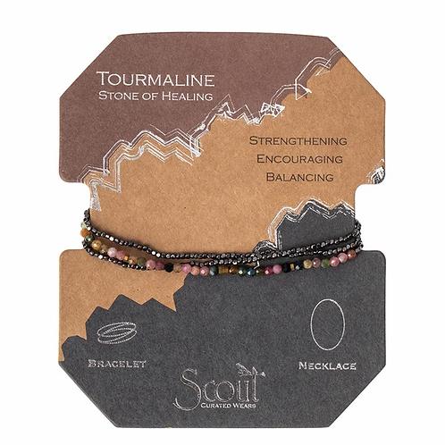 Delicate Stone Tourmaline - Stone of Healing