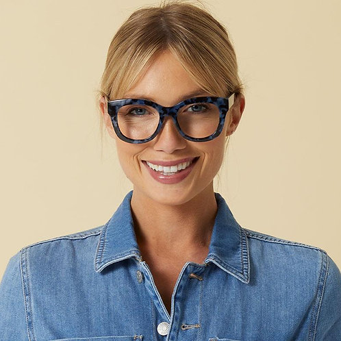 Peepers Glasses-Center Stage-Navy Tortoise
