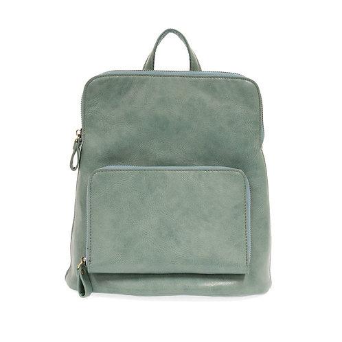 Julia Mini Backpack-Seafoam