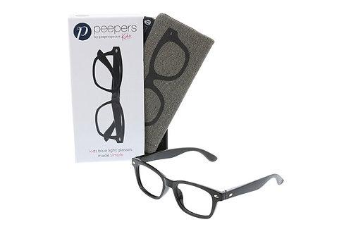 Peeper's Simply Kids Blue Light Glasses-Black