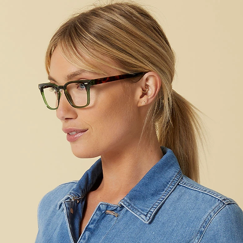 Peepers Glasses-Strut-Green/Tortoise