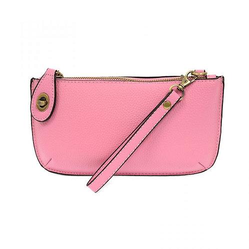 Mini Crossbody Clutch -Carnation Pink