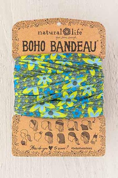 Boho Bandeau™ Blue Green