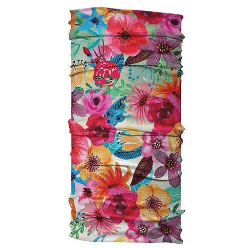 Watercolor Floral Wide Headband