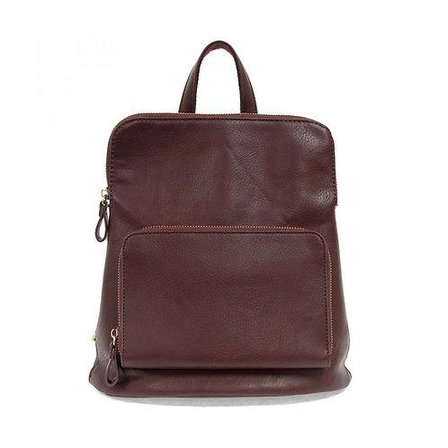 Julia Mini Backpack-Wine