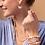 Thumbnail: Pearl & Gemstone Bracelet - Light Blue Agate