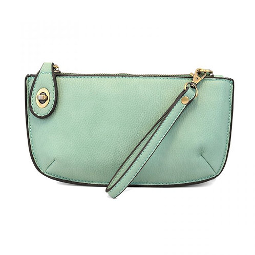 Mini Crossbody Clutch -Seafoam