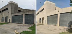 Concrete Building Cleaning