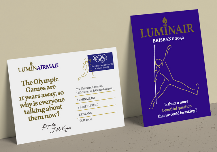 The 2032 Olympic Games are still 11 years away, so why is everyone talking about them now?