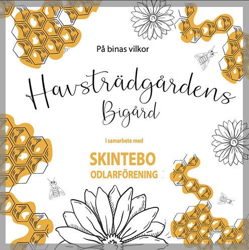 Andel Havsträdgårdens bigård i samarbete med Litsegårdens biodling