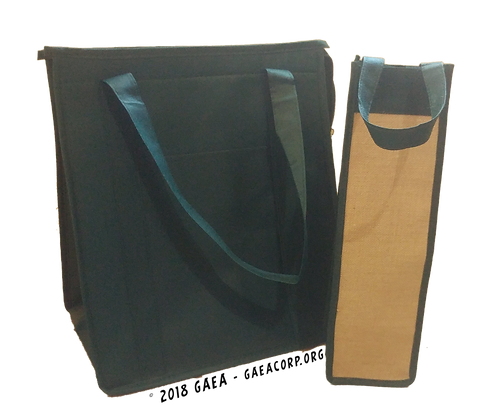 (2 Pack) Eco-Friendly Reusable Grocery Bags