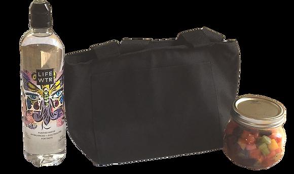 Black Recycled Cooler Bag