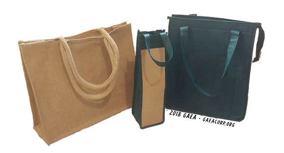 (3 Pack) Eco-Friendly Reusable Grocery Bags