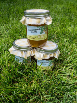 Homesccratch Honey Label