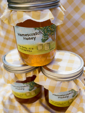 Homescratch Honey Label