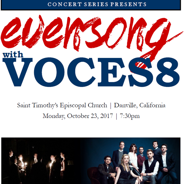 Evensong with VOCES8