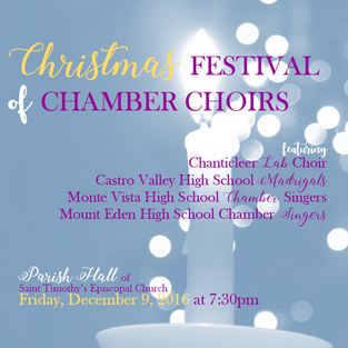 Christmas Festival of Chamber Choirs