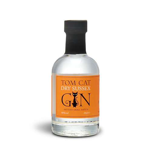 Tom Cat Dry Sussex Gin - 20cl