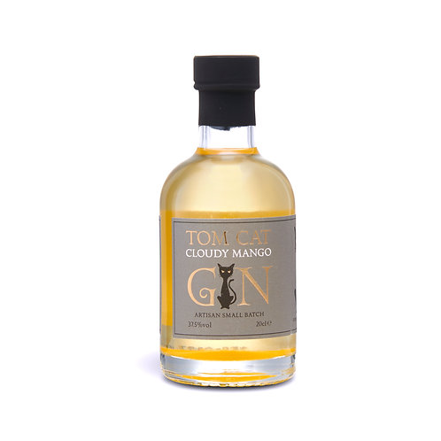 Tom Cat Cloudy Mango Gin - 20cl