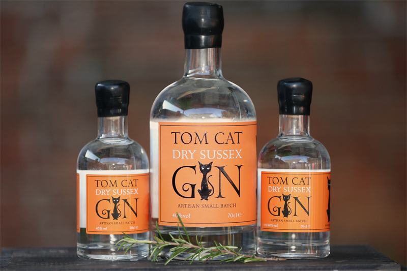 Tom Cat Dry Sussex Gin