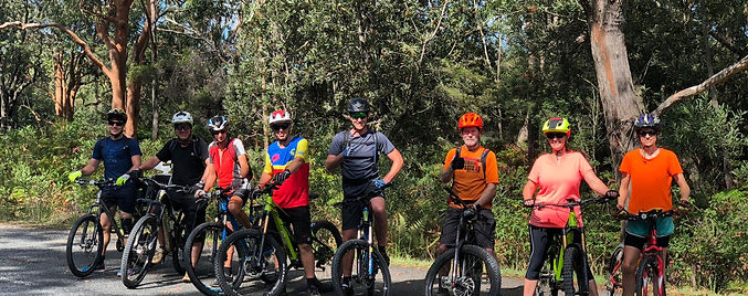 Forster North haven Mountain Bike Tour